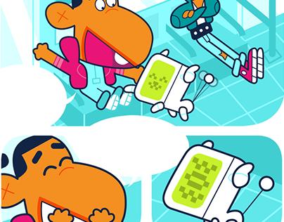 PANKO - Comic book project