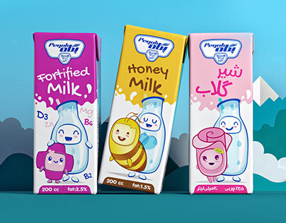 Milk And Friends / Pegah Flavored Milks