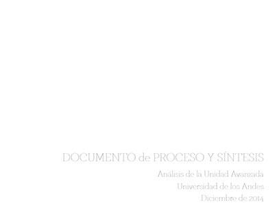 Documento síntesis del proyecto- Unidad Avanzada