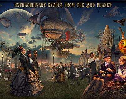 Extraordinary exodus from the 3rd planet
