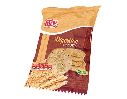 Packaging design for DELI Digestive