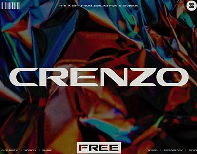 CRENZO - FREE FONT