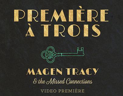 Premiere a Trois - Show Flier and Matchbooks