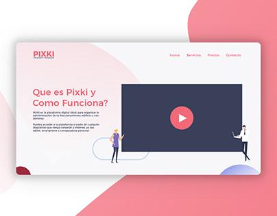 Pixki Website