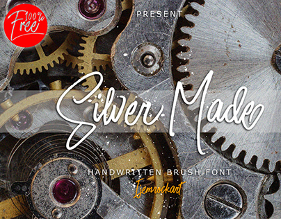 Silver Made Free Font