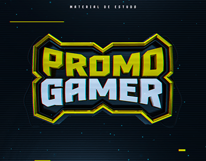 Promo Gamer - Selo 3D
