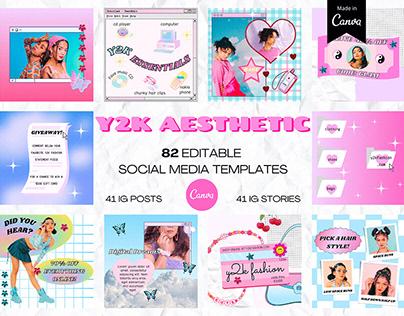 Y2K AESTHETIC Instagram Templates