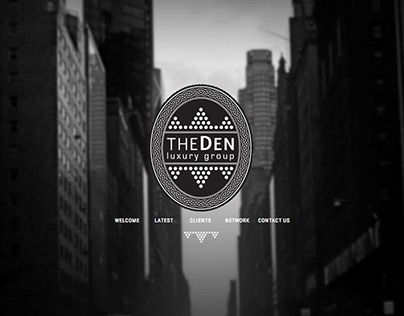 The Den Luxury Group - Web Design