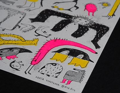 Riso-prints