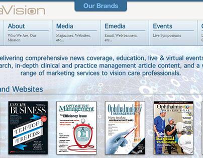 PentaVision - Responsive Web design
