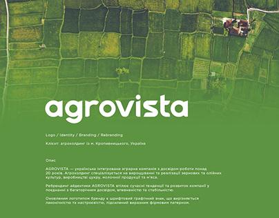 Agrovista - rebranding for agroholding (TOP20)