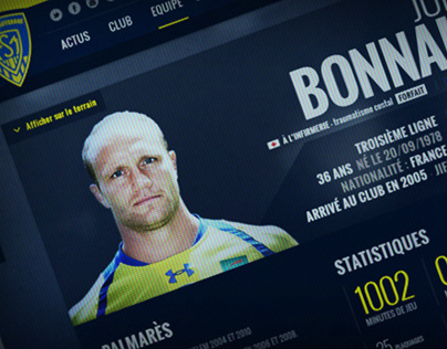 ASM Clermont Auvergne | Website