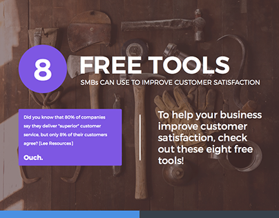 8 Free Tools to Improve Customer Satisfaction