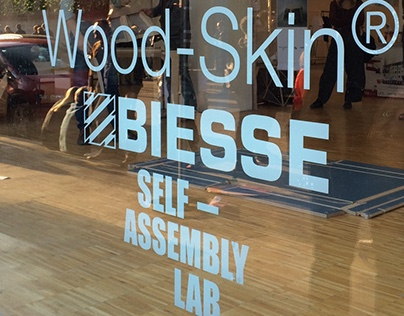 Wood-Skin®'s stand at Fuorisalone 2015
