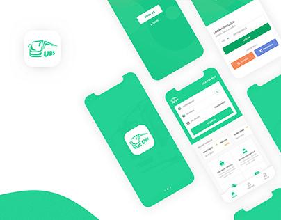 Mobile App - Online Ticket Booking