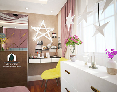 #girl_bed_room @ new cairo