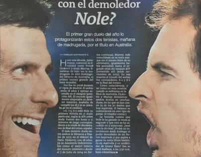 Contraportadas, Periódico El Colombiano