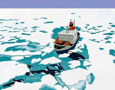 Icebreakers breaking habitat