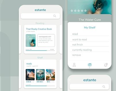 UX / UI | Estante - App for readers