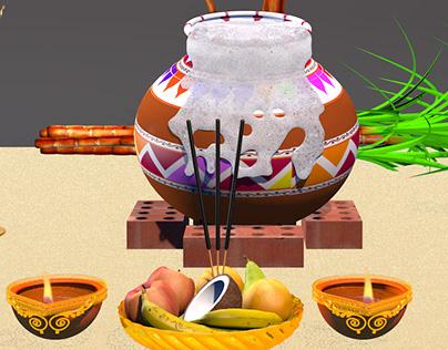 Pongal Animation