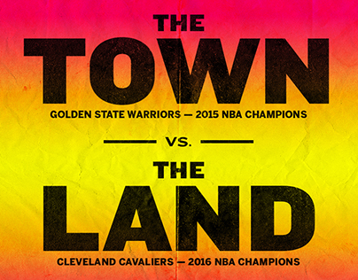 Cavs vs. Warriors Illustration for The Undefeated