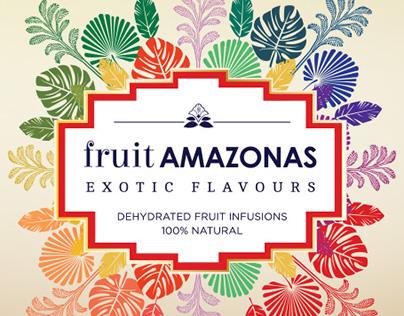 Fruit amazonas - Brand identity and packaging