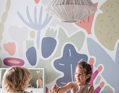 Wall sticker for children's room