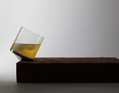 Tipsy Whiskey Glass