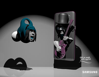Juntos magistrales - Samsung.