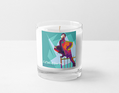 Soy Candle Mockups - Pin Living Color