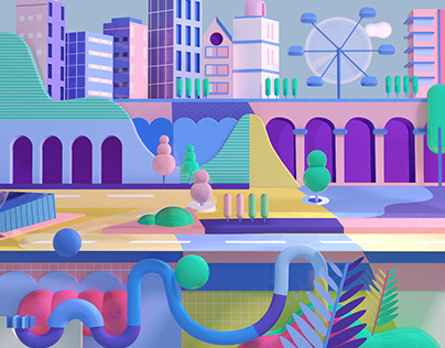 Geometrical city
