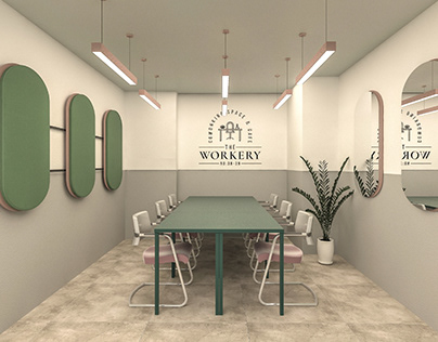 The Workery Interior and Branding Design