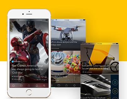 Best news reader iPhone application