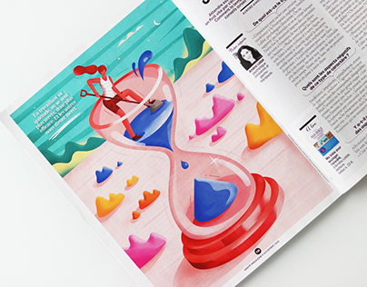 Illustrations for Sante magazine vol. 2
