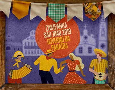 Campanha São João 2019 - Governo da Paraíba