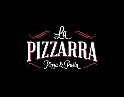La Pizzarra logo design