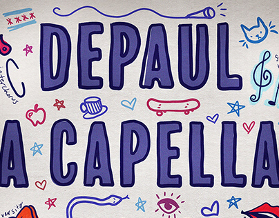 DePaul University A Capella Info Session Poster