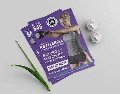 Fitness Trainer Flyer Design