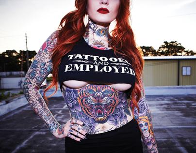 Tattooed and Employed - Original Design