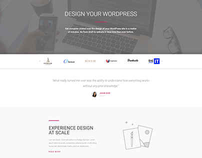 Home Page-Agency Page