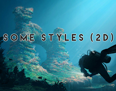 "PROYECTOS ""Some styles (2D)"" Para canales de Youtube"