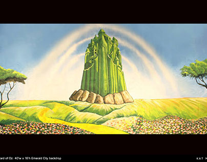 Wizard of Oz backdrops
