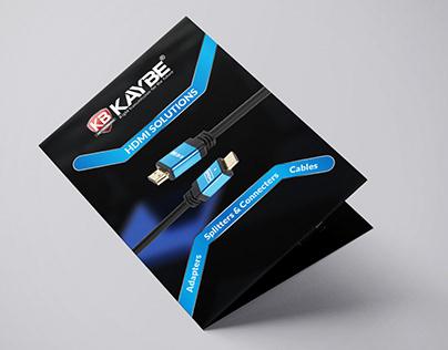 Bi-Fold HDMI Brochure - KB Trading LLC.