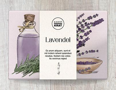 Illustrationen für Seifenverpackungen