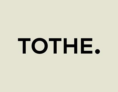 TOTHE. branding by Eva Hilla