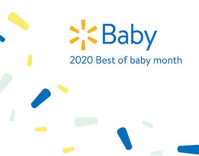 Walmart - Best of Baby Month