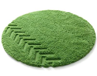 JD Grass rug