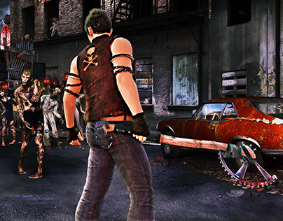 Dead Rising- Game Banner Project