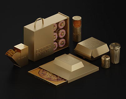 Golden Packaging