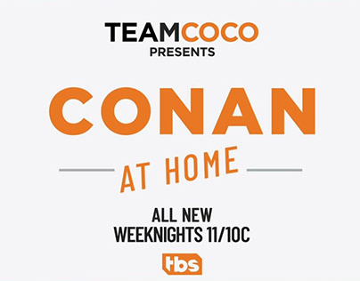 PROMO: Conan At Home [2020]